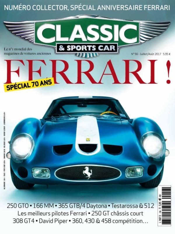 Couverture Classic & Sports Car 56