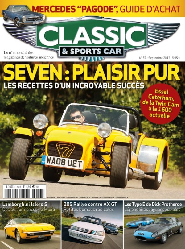 Couverture Classic & Sports Car 57