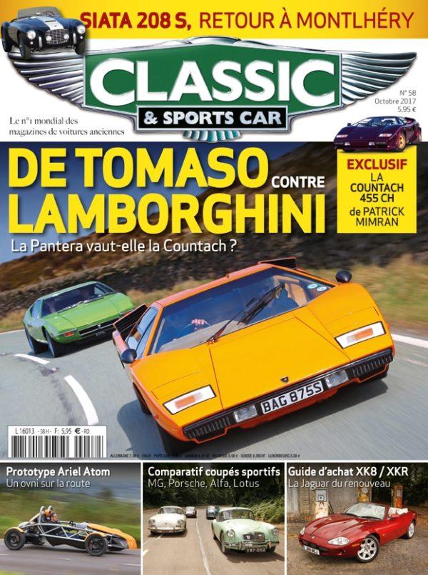 Couverture Classic & Sports Car 58