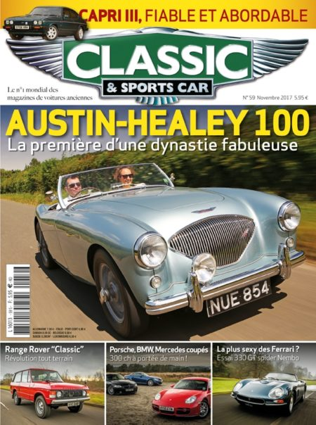Couverture Classic & Sports Car 59