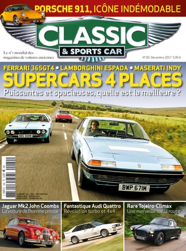 Couverture Classic & Sports Car 60