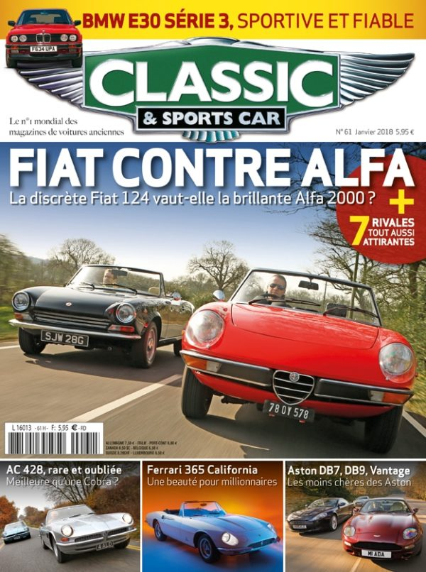Couverture Classic & Sports Car 61