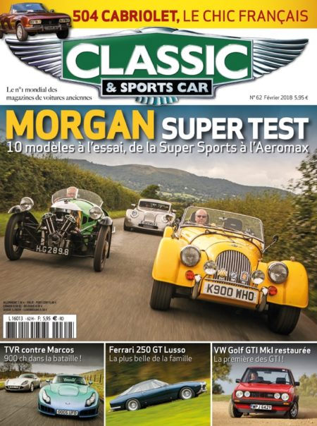 Couverture Classic & Sports Car 62