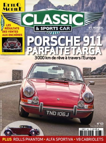 Couverture Classic & Sports Car 63