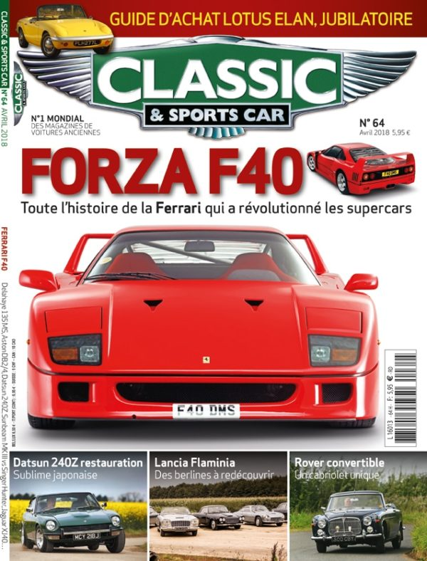 Couverture Classic & Sports Car 64