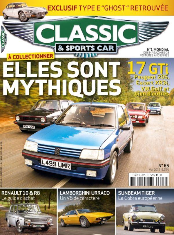 Couverture Classic & Sports Car 65