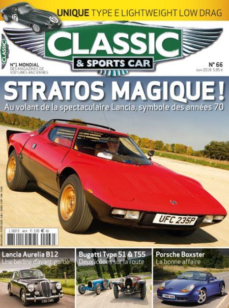 Couverture Classic & Sports Car 66