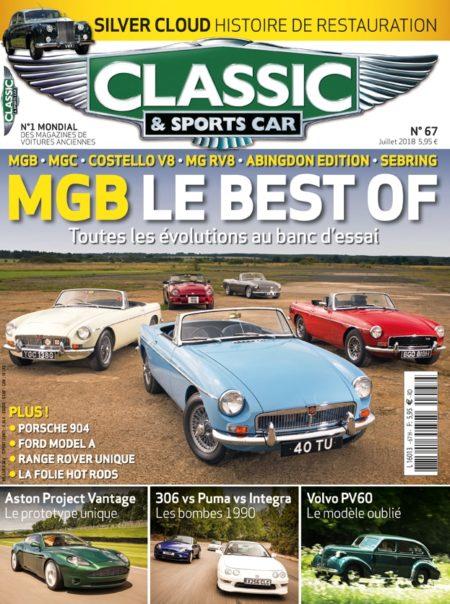 Couverture Classic & Sports Car 67