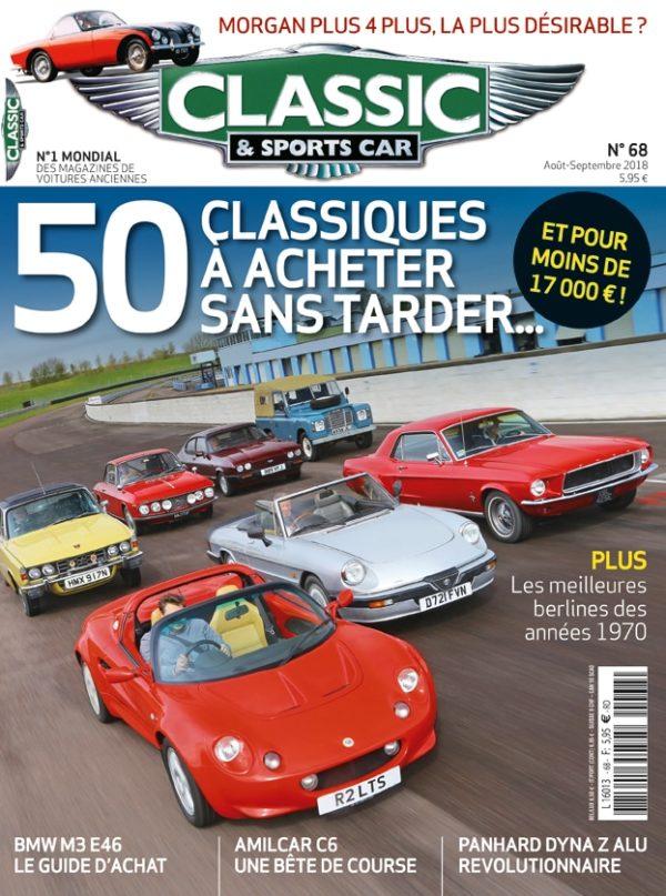 Couverture Classic & Sports Car 68