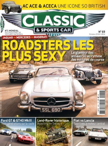 Couverture Classic & Sports Car 69