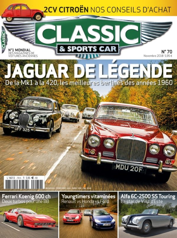 Couverture Classic & Sports Car 70