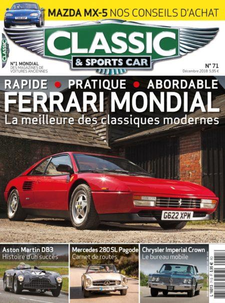 Couverture Classic & Sports Car 71