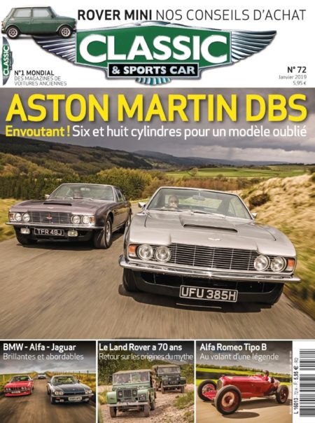 Couverture Classic & Sports Car 72