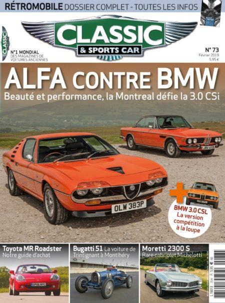 Couverture Classic & Sports Car 73