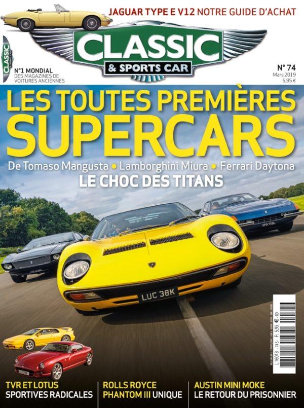 Couverture Classic & Sports Car 74