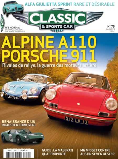 Couverture Classic & Sports Car 75