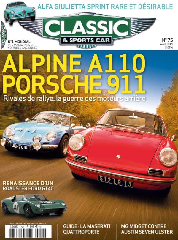 Couverture Classic & Sports Car 75