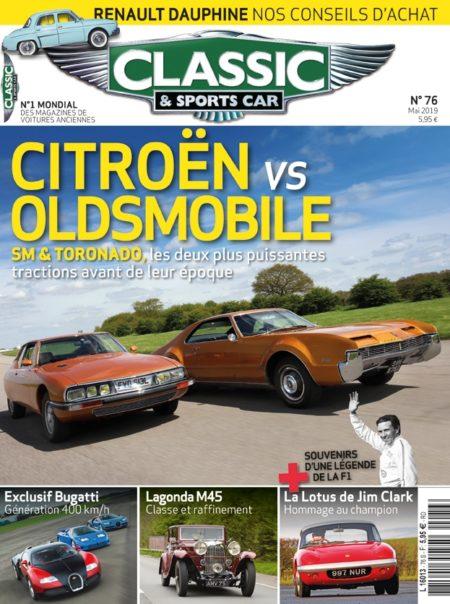 Couverture Classic & Sports Car 76