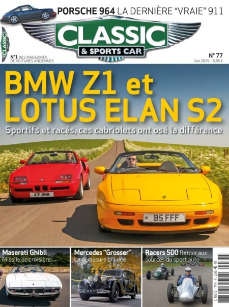 Couverture Classic & Sports Car 77