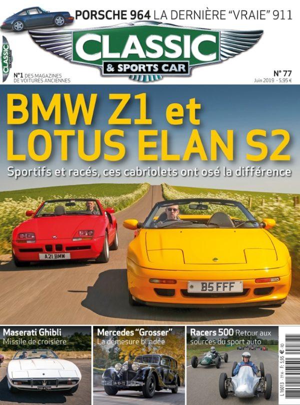 Couverture Classic & Sports Car 77