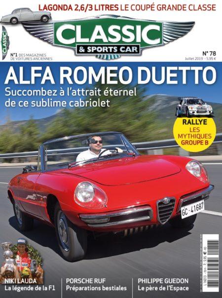 Couverture Classic & Sports Car 78