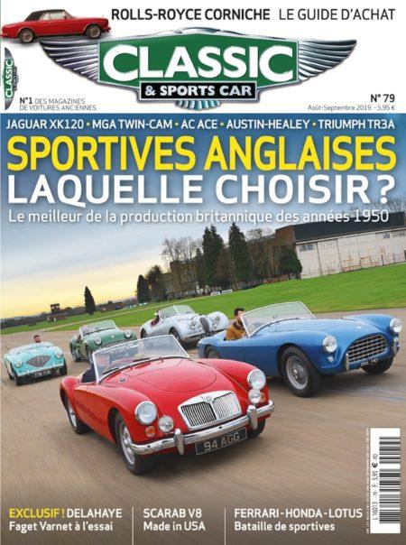 Couverture Classic & Sports Car 79