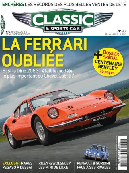 Couverture Classic & Sports Car 80