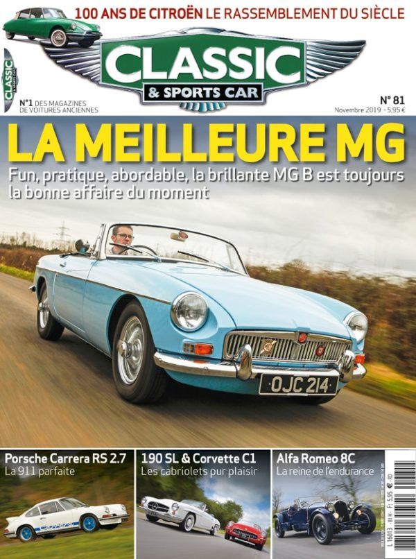 Couverture Classic & Sports Car 81