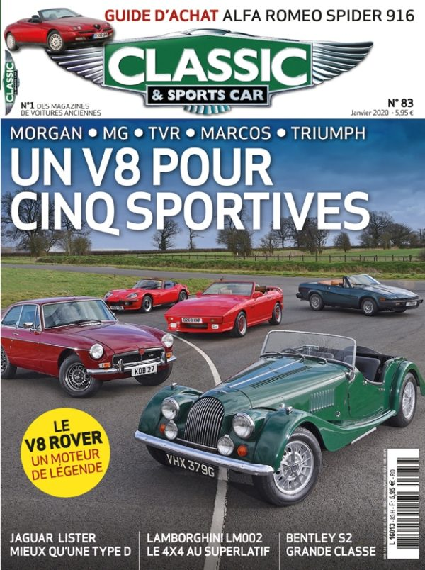 Couverture Classic & Sports Car 83