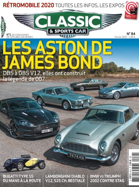 Couverture Classic & Sports Car 84