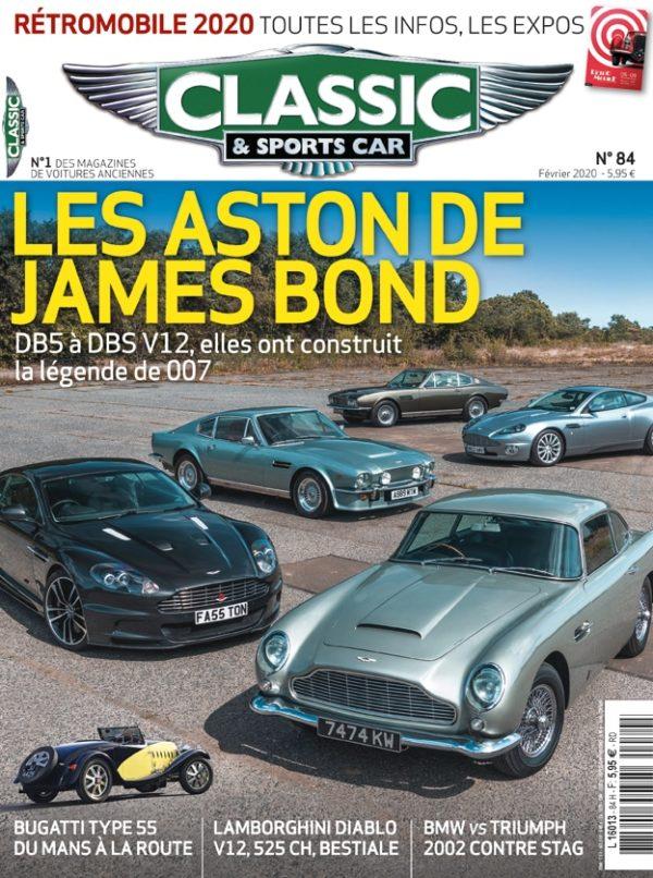 Couverture Classic & Sports Car 84