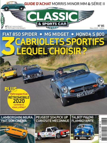 Couverture Classic & Sports Car 85