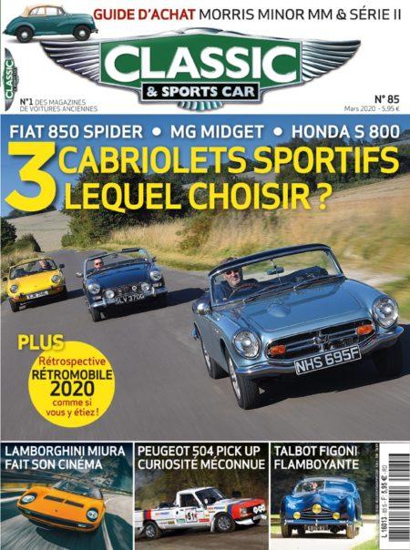 Couverture Classic & Sports Car 85