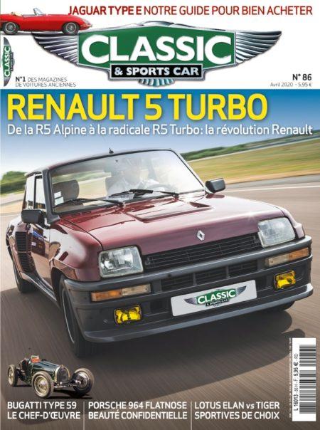 Couverture Classic & Sports Car 86