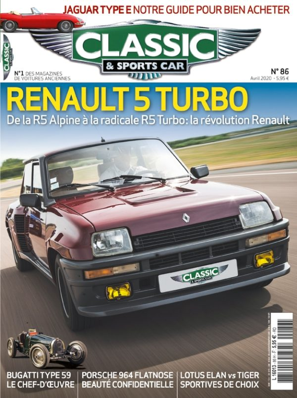 Couverture Classic & Sports Car 86