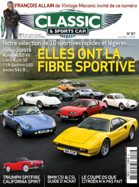 Couverture Classic & Sports Car 87