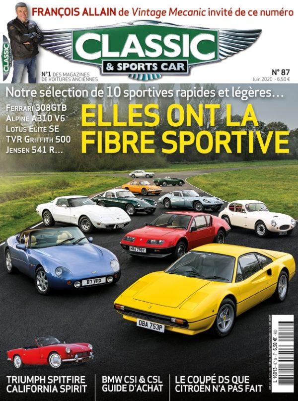 Couverture Classic & Sports Car 87
