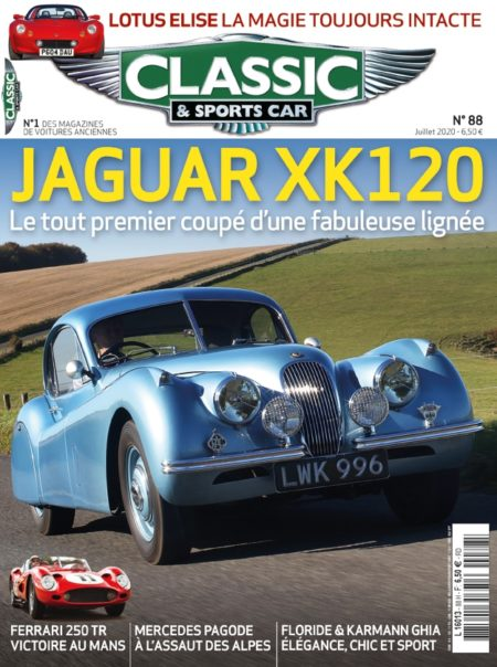 Couverture Classic & Sports Car 88