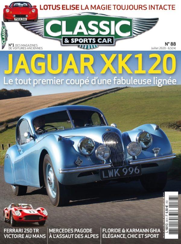 Couverture Classic & Sports Car 88
