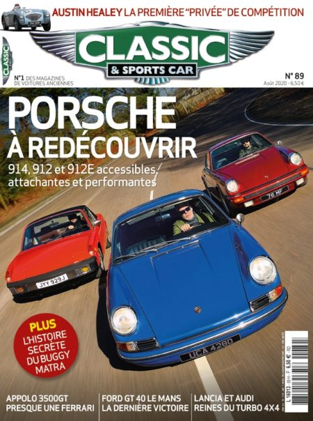 Couverture Classic & Sports Car 89