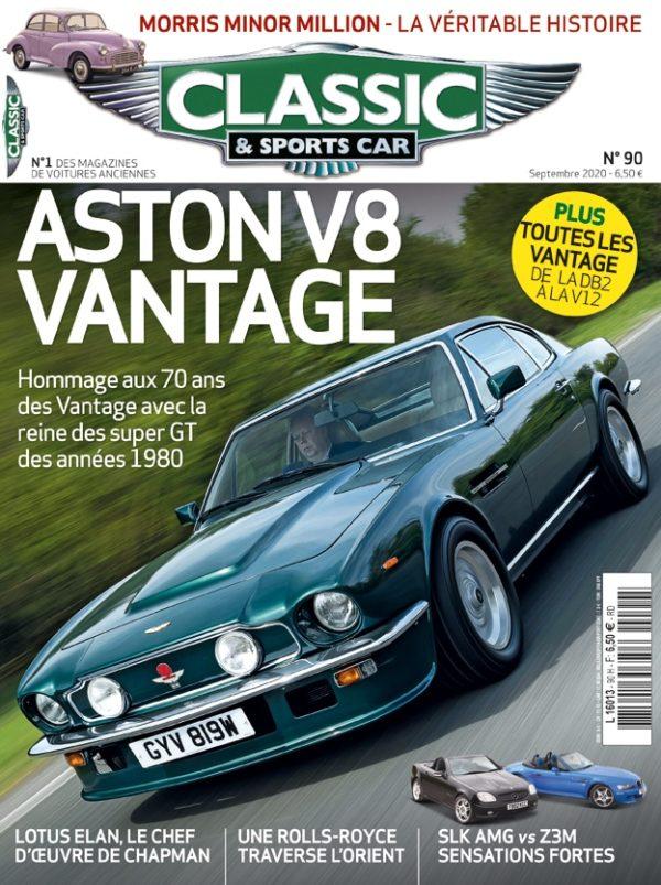 Couverture Classic & Sports Car 90