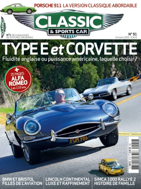 Couverture Classic & Sports Car 91