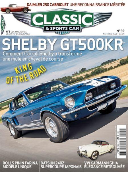 Couverture Classic & Sports Car 92