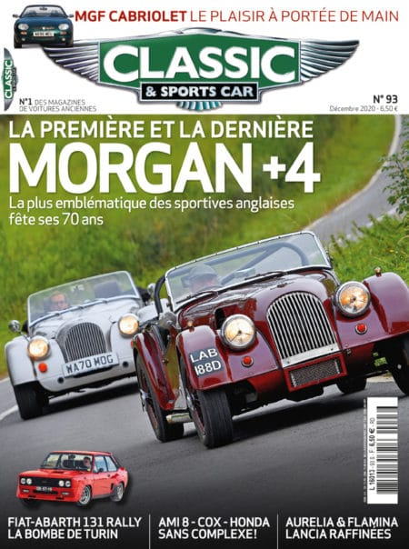 Couverture Classic & Sports Car 93