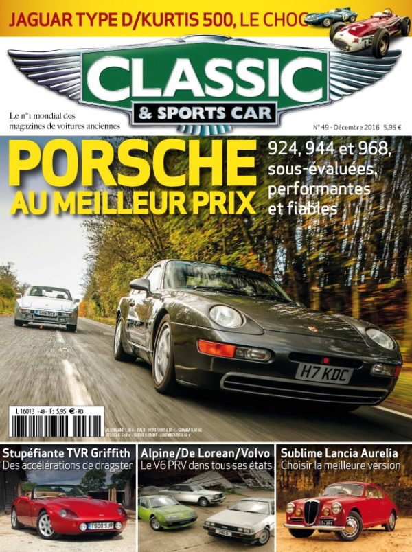 Couverture Classic & Sports Car 49