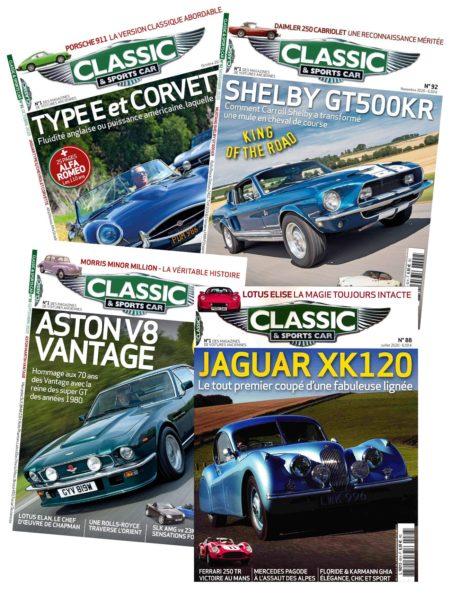 Abonnement Classic and Sports Car