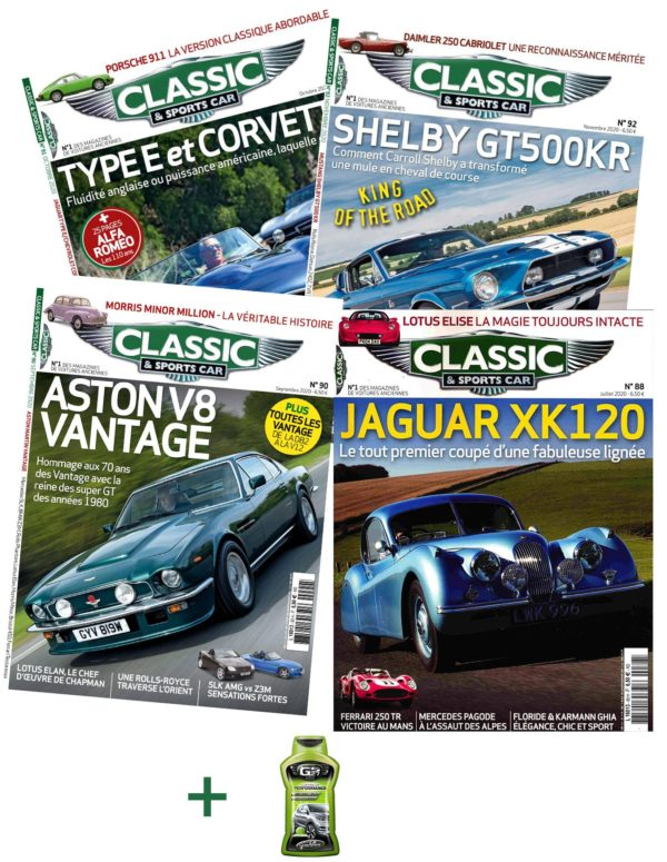 Abonnement Classic and Sports Car + Lustreur GS27