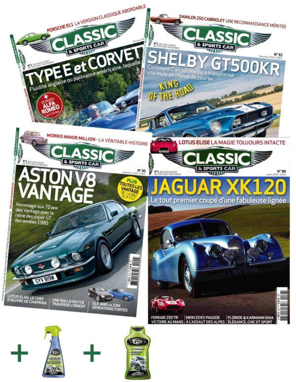Abonnement Classic and Sports Car + Lustreur GS27 + Nettoyant GS27