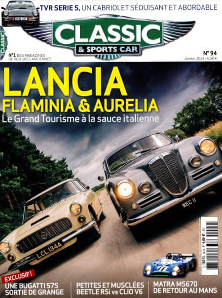 Couverture Classic & Sports Car 94