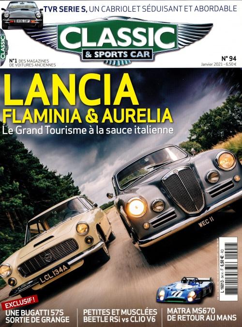 Couverture Classic & Sports Car 94